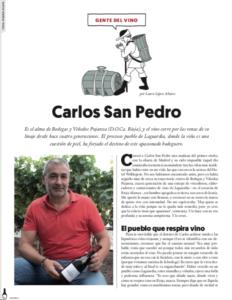 entrevista carlos san pedro